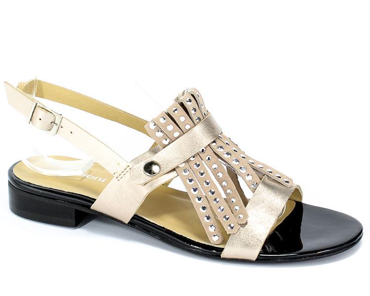 Sandały Maccioni 915 Beżowy