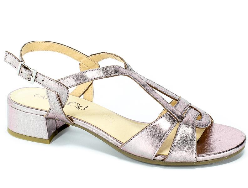 Sandały Caprice 9-28201-22 596 Soft Pink Met.