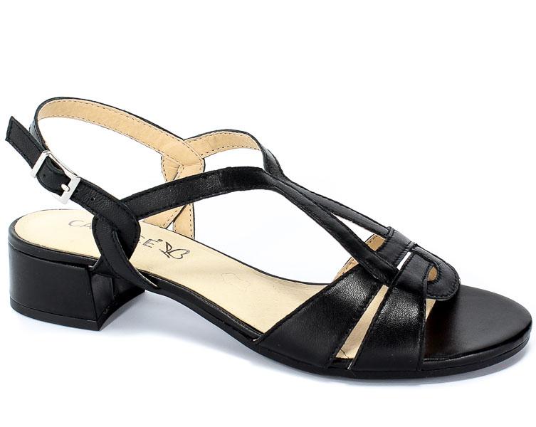 Sandały Caprice 9-28201-22 022 Black Nappa