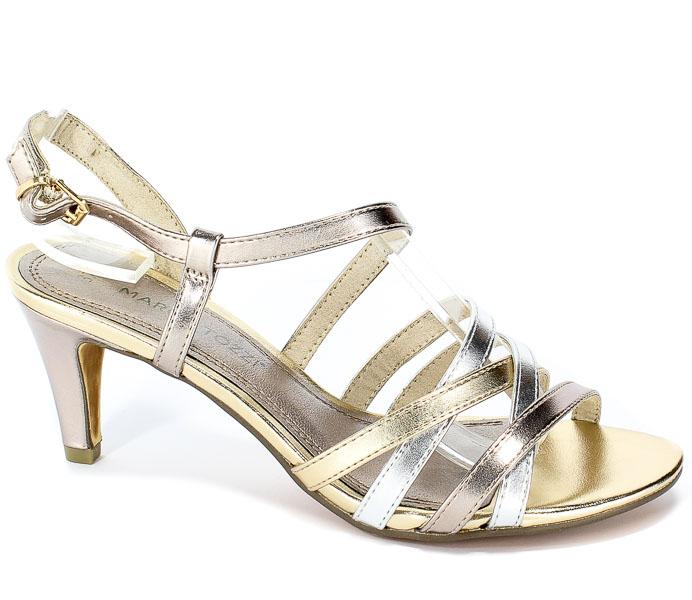 Sandały Marco Tozzi 2-28301-22 532 Rose.Met Comb