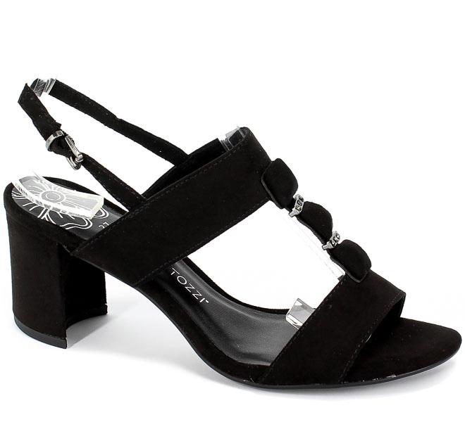 Sandały Marco Tozzi 2-28307-22 001 Black