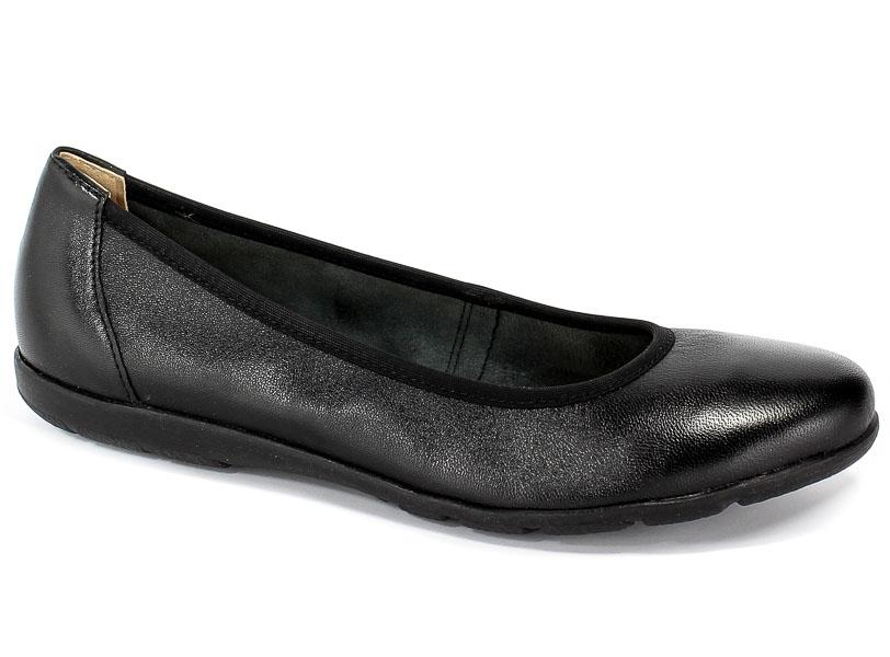Baleriny Caprice 9-22150-22 022 Black Nappa