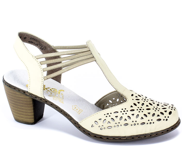 Sandały Rieker 40969-80 Weiss