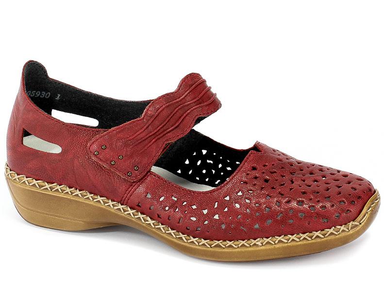 Sandały Rieker 41399-35 Red