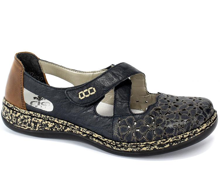 Sandały Rieker 463H4-14 Blue