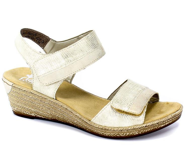 Sandały Rieker 62470-90 Gold