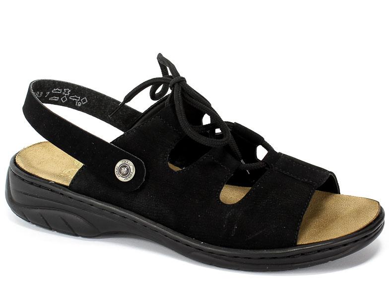 Sandały Rieker 64570-00 Black