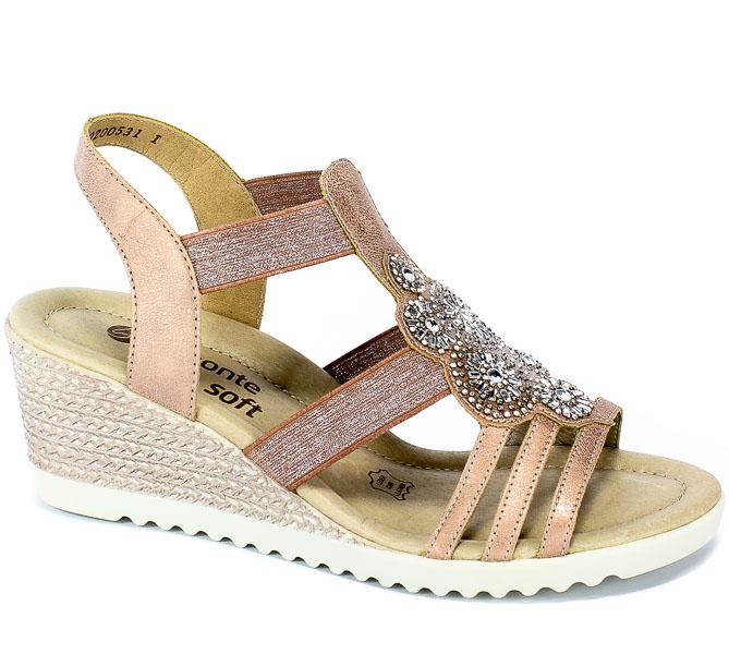 Sandały Remonte D3448-31 Rosa