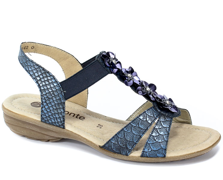 Sandały Remonte R3633-14 Blue