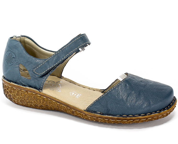 Sandały Rieker M0969-13 Blue