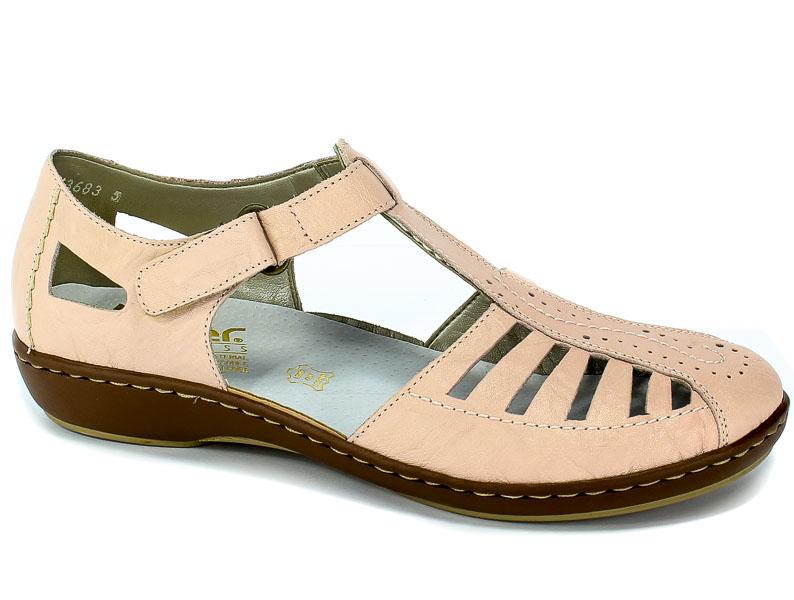 Sandały Rieker 45865-31 Rosa
