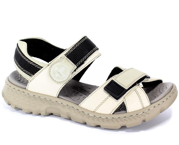 Sandały Rieker 67853-60 Beige