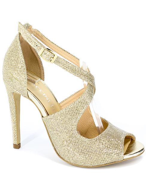 Sandały Baldaccini 10910000 Złoto Materiał
