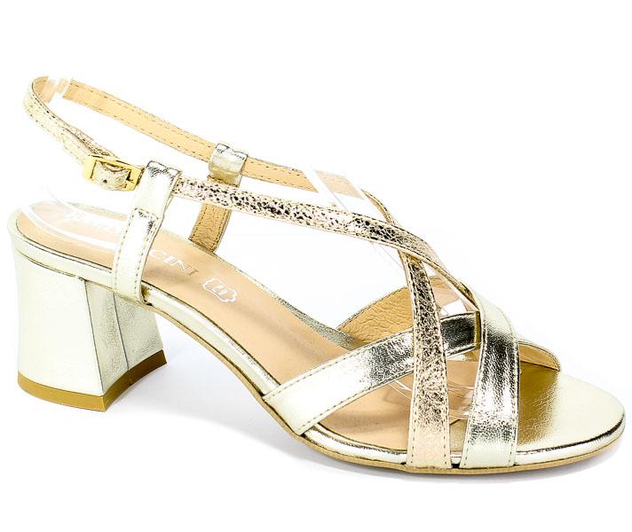 Sandały Baldaccini 1111000 Złoto Wł+Cresh Złoto