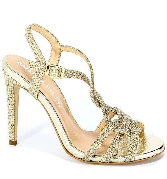 Sandały Baldaccini 005500-E Materiał Złoto