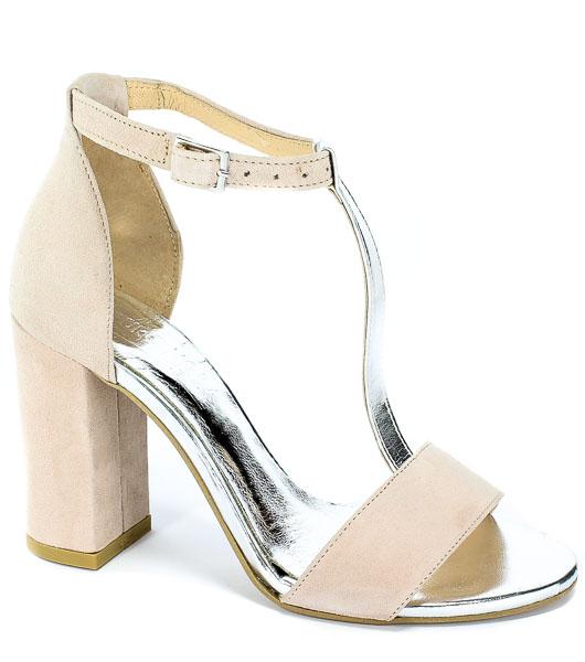 Sandały Euro Moda 19 2799/071-P Róż