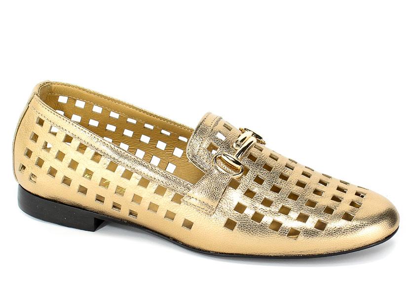 Lordsy Letnie Euro Moda 19 2880/074-P Złoty