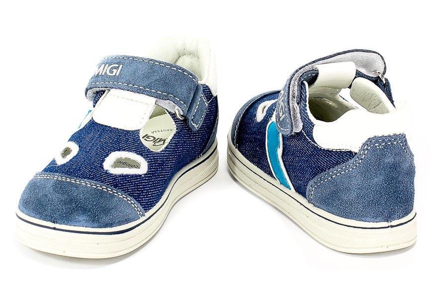 Półbuty Letnie Primigi 3374100 Scamosc/T.Jeans/Azzu r.25-29