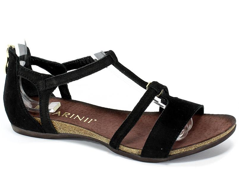 Sandały Carinii B5017-360-000-000-B02 Czarny