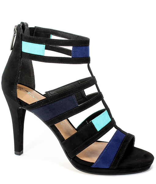 Sandały Tamaris 1-28039-32 818 Blue Comb