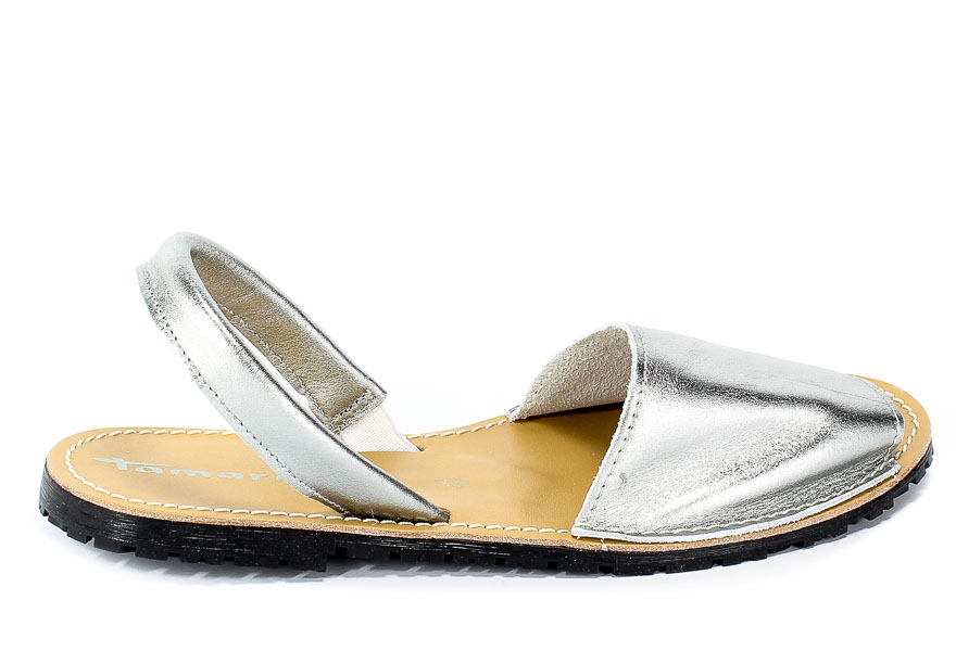 Sandały Tamaris 1-28916-22 933 Silver Metall