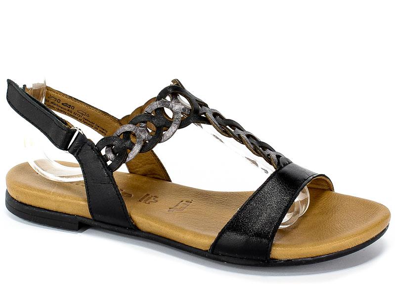 Sandały Tamaris 1-28127-22 094 Black/Pewter