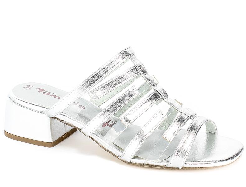 Klapki Tamaris 1-27265-32 941 Silver