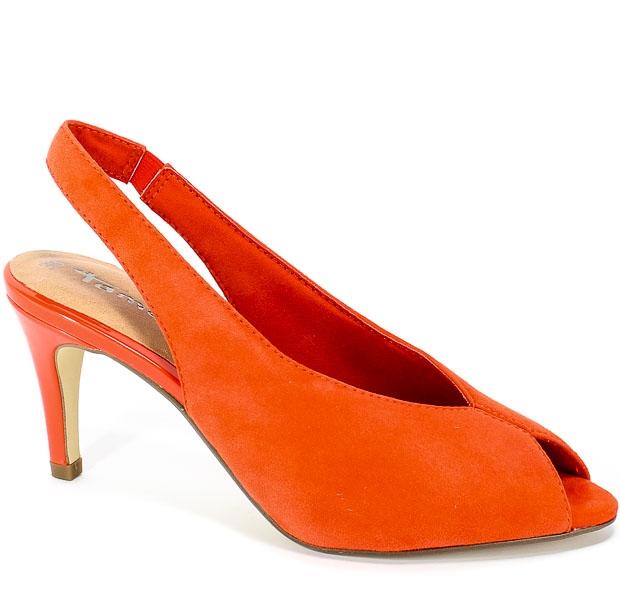 Sandały Tamaris 1-29614-32 606 Orange