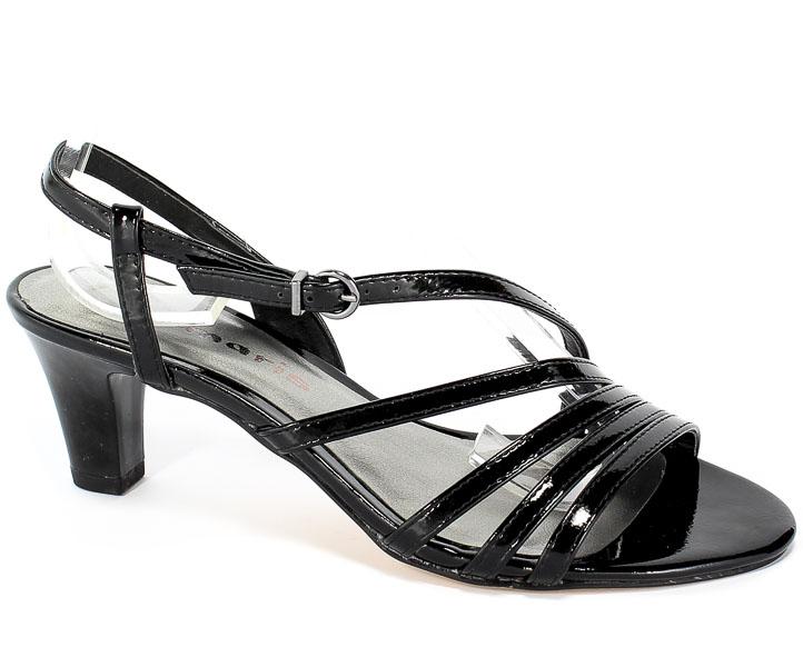 Sandały Tamaris 1-28023-32 018 Black Patent