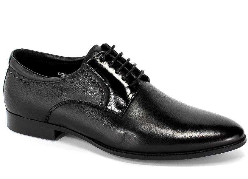 Półbuty Brooman John Doubare C328-302-1 Black