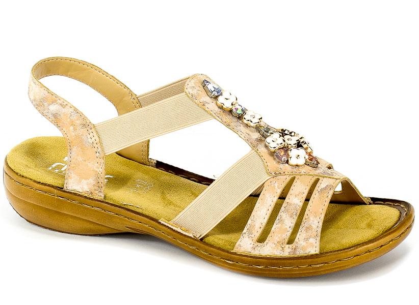 Sandały Rieker 60855-31 Rosa