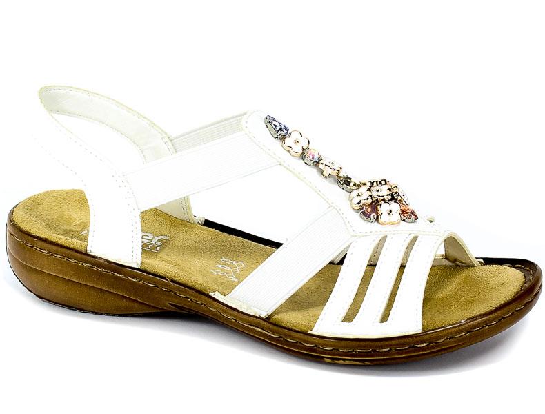 Sandały Rieker 60855-80 Weiss