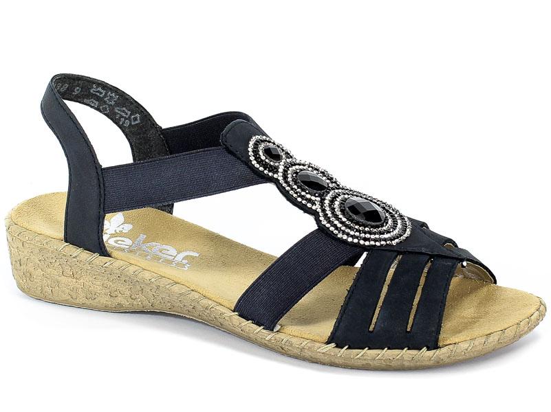 Sandały Rieker 61659-14 Blue
