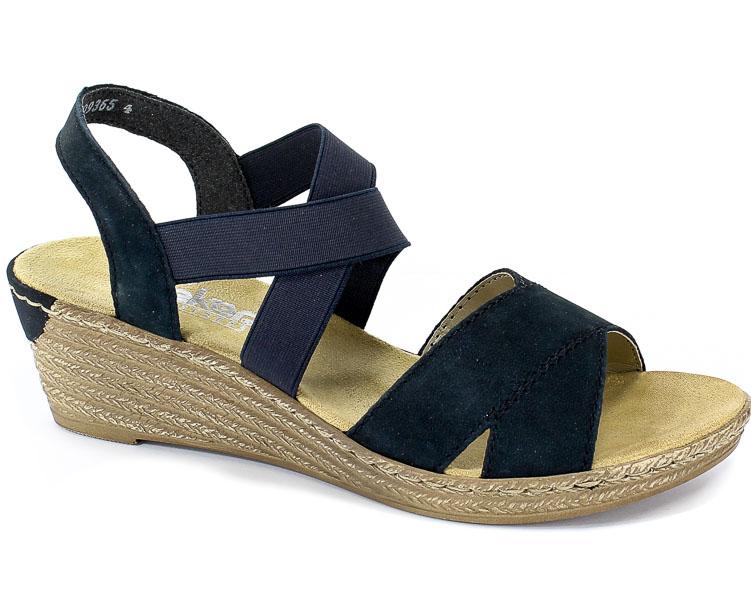 Sandały Rieker 62412-15 Blue