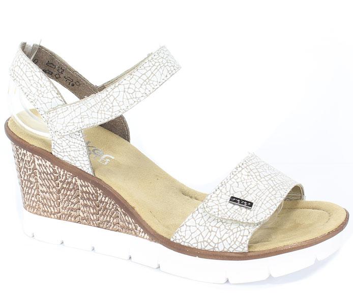 Sandały Rieker 65554-80 Weiss