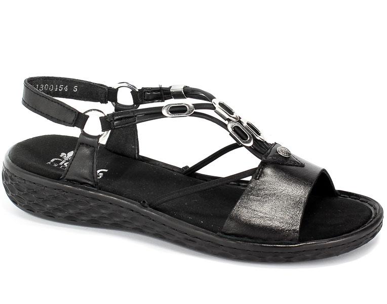 Sandały Rieker V22L9-00 Black
