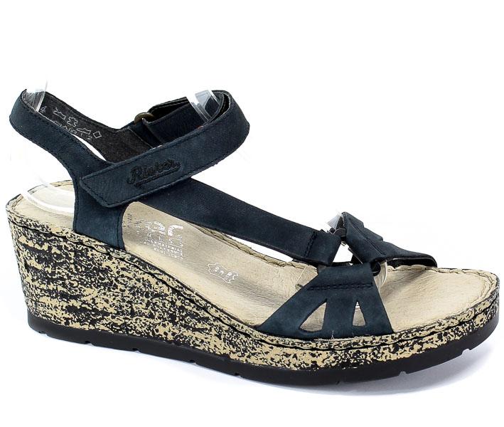 Sandały Rieker V7671-14 Blue