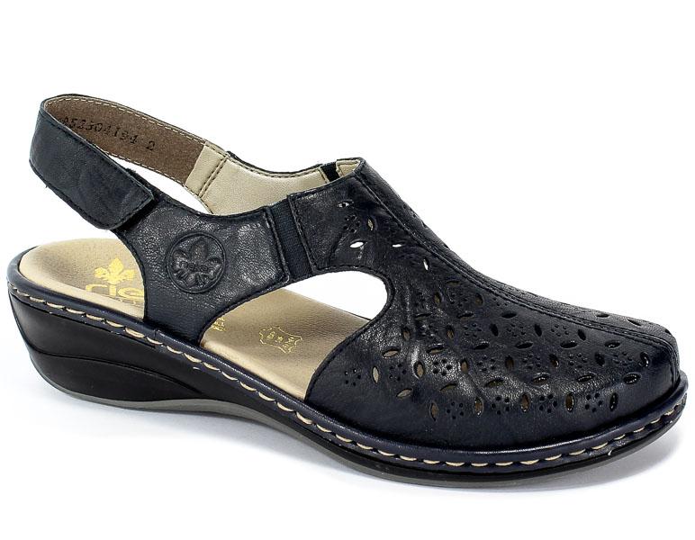 Sandały Rieker 47776-14 Blue