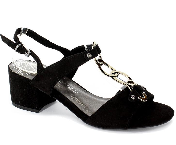 Sandały Marco Tozzi 2-28312-22 001 Black