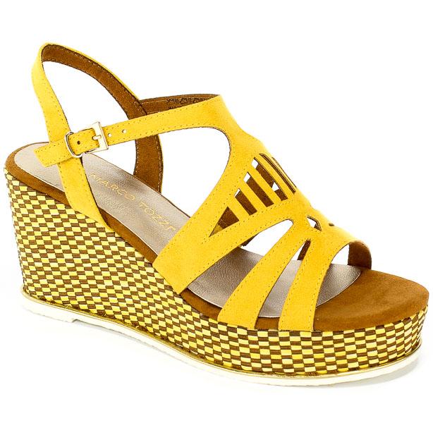 Sandały Marco Tozzi 2-28730-32 656 Saffron Comb