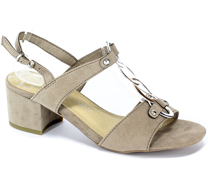 Sandały Marco Tozzi 2-28312-22 341 Taupe