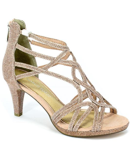 Sandały Marco Tozzi 2-28362-32 592 Rose Metallic