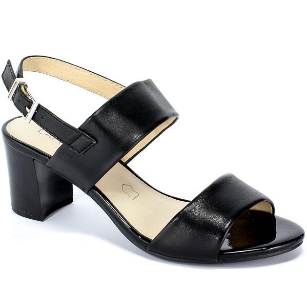 Sandały Caprice 9-28302-22 022 Black Nappa