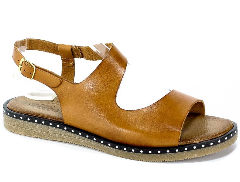 Sandały Blu... 4300 Brąz 6