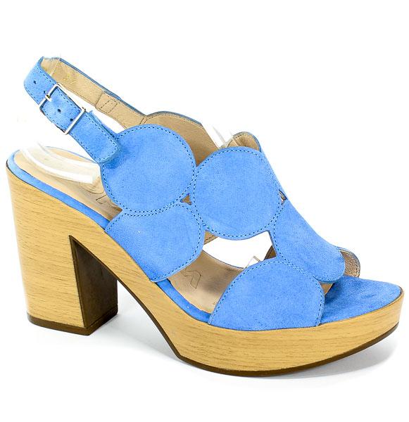 Sandały Wonders L-9152 Bluet