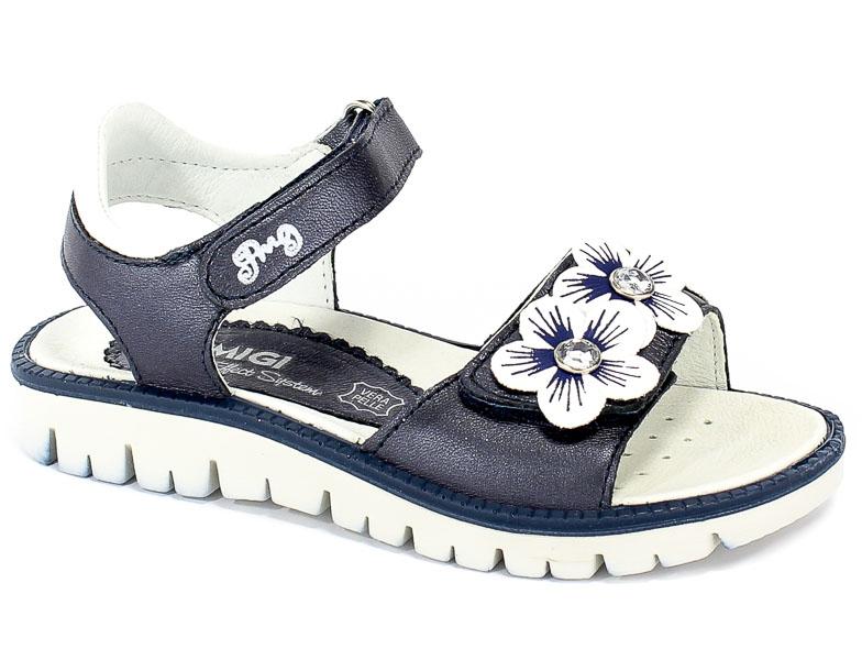 Sandały Primigi 3390911 Capra Lam/S.Nap/Blu r.31-35
