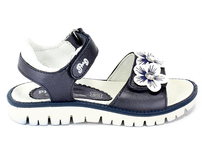 Sandały Primigi 3390911 Capra Lam/S.Nap/Blu r.36-40