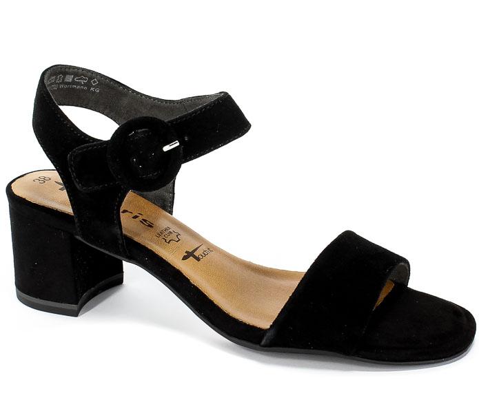 026f3f57c43be Sandały Tamaris 1-28324-22 001 Black - Sandały - Kolekcja damska ...