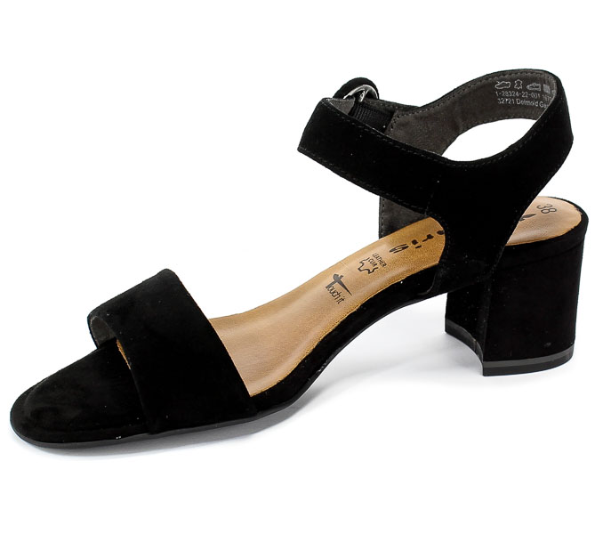 Sandały Tamaris 1-28324-22 001 Black
