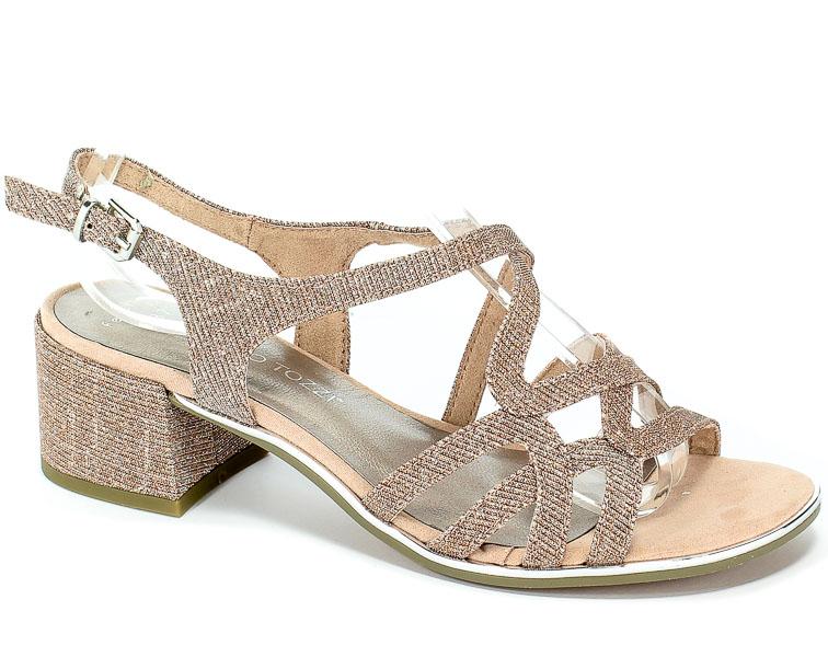 Sandały Marco Tozzi 2-28222-32 592 Rose Metallic